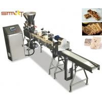 Quality Stainless Steel Homemade Granola Bar Making Machine With One Year Warranty for sale