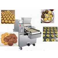 Quality Energy Saving Cookie Dough Machine Biscuit Depositing Line Extruder for sale