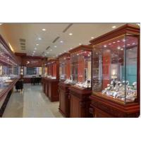 Quality famous watch store designing and counters production for sale