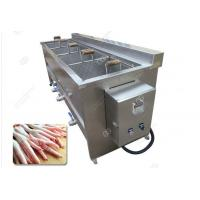 Quality Stainless Steel Potato Chips Blanching Machine High Efficiency/Industrial Vegetable Fruit Blanching Machine Easy Operate for sale