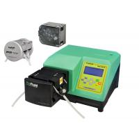 Quality Dispensing Peristaltic Liquid Dosing Pump Accuracy Green With Silicone Tubing for sale