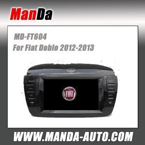 Quality Manda car stereo for Fiat Doblo 2012-2013 in-dash head unit touch screen dvd gps auto radio for sale