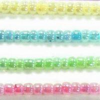 China Glass Seed Beads, Available in Ceylon Colors, Comes in Round Shape on sale