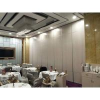 Quality Melamine Surface Operable Acoustic Room Dividers For Restaurant / Sliding Partition Wall for sale