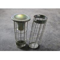 Quality Venturi Dust Filter Bag Filter Cage Zinc Galvanized Stainless Steel 304, 316, 316L for sale