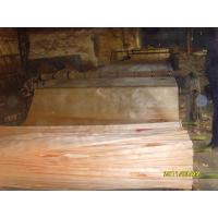 Quality Rotary Cut Yellow Okoume Face Veneer , 0.20 mm - 0.60 mm Thickness for sale