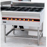 China Floor Type LPG Gas Cooking Range / Gas Burner Range BGRL-1280 For Restaurant on sale