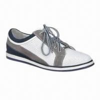 Quality 2013 men's sports shoes with genuine leather upper lace up for sale
