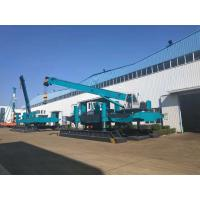 Low Noise Hydraulic Pile Driving Machine , Construction Piling Machine