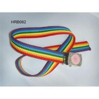 Children's belt, kid's cotton belt, china cotton belt supplier