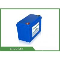 Quality 48V 25Ah Lithium Golf Cart Batteries Low Self - Discharge Rate for sale