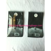Quality 1 – 8 Colors Printing Cigar Packaging Bag With Slid Zip Lock / Humidifier System for sale