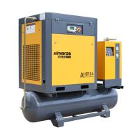 Quality Directly factory price Germany 5.5kw All-in-one Combined fixed speed screw air compressor for sale for sale