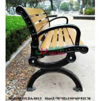 Quality Prefabricated Composite Park Bench , WPC Synthetic Wood Bench Fading Resistance for sale