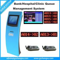 Quality Wireless Complete Bank Counter Network Token Queue Management System With Digital Signage LCD TV Display Solution for sale