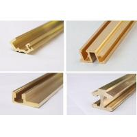 Copper Extruded Shapes : Shining copper extruded profiles brass extruding window