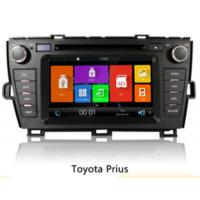 China Black 2 Din Car Gps Navigation System , Car Radio With Gps For Toyota Prius on sale