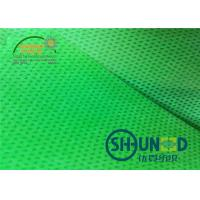 Quality Green Biodegradable Pp Spunbond Non Woven Fabric Breathable For Agriculture And Bag Usage for sale