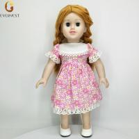 China 2018 Custom Hot Vinyl Silicone American Beautiful Girl Doll For Sale on sale