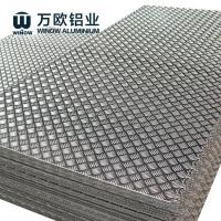 Quality 1100 1050 1060 Aluminium Chequered Plate , Aluminum Alloy Checker Plate for sale