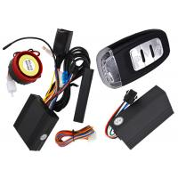 Quality Intelligent Motorcycle Gps Tracking System , Waterproof Control Unit Motorcycle Anti Theft System for sale