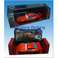 China Paper toy car box with PVC window on sale