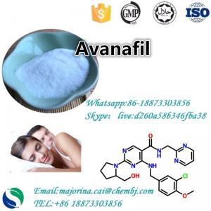 China Avanafil Sexual Enhancement For Erectile Dysfunction CAS 330784-47-9 on sale