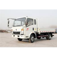 China Sinotruk 4X2 Light Cargo Truck / Flat Bed Truck Euro 2 With ZZ1047E2815B180 on sale