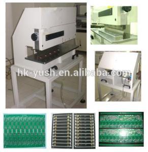 Buy cheap LED Aluminum Plate V Cut Pcb Separator / V Cut Pcb Depaneling Machine from wholesalers