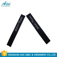 Quality Garment Woven Clothing Label Tags Satin / Silk Printing Fast - Delivery for sale