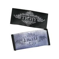 Quality Eco-friendly Woven Clothing Tags Labels With Paper / Fabric Backing For Garments for sale