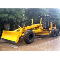 Quality Self Propelled Articulated Motor Grader 215 Hp With Front Blade / Rear Scarifier for sale