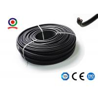 Buy cheap DC Wire Flat Twin Core PV Cable 6mm2 Communication XLPE for power station from wholesalers
