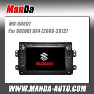 Quality Manda hot sell car video for SUZUKI SX4 (2006-2012) in-dash head units car multimedia system satellite radio for sale