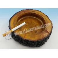 China Colorful Poker Scanner Plastic Round Ashtray Hidden Cheating Camera on sale