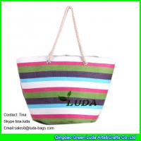 Buy LUDA summer paper straw bags ladies designer straw handbags at wholesale prices