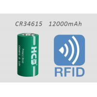 Quality 3 V D CR34615 Limno2 Battery 12000mAh 3000mA For RFID Medical Devices Non-rechargeable NB IOT LORA GSM for sale