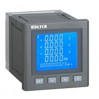 China 96mm Wdy-9e Digital Panel Meter Intelligent 3 Phase Grey Color Spray Painted on sale