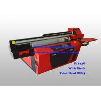 Commercial Multicolor Flatbed UV Printer With Ricoh Industrial Print Head