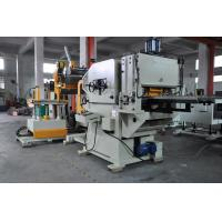 Buy cheap Hydraulic NC Servo Decoiler Straightener Feeder for 1400 MM Coil Diameter from Wholesalers