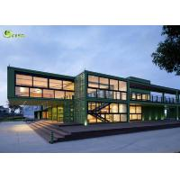 Expandable Prefab Modular Container Housing Steel Frame Building