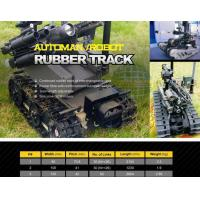 Quality Robot rubber track for sale