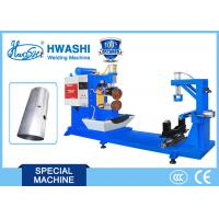 Quality Argon Arc Straight Seam Welding Machine Hwashi Blue Color 0.5m/ Sec Automatic for sale