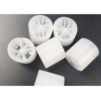 Quality HDPE Biomass Plastic Filter Media 15*15mm For WWTP SBR Technology Carrier for sale