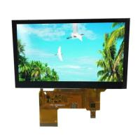High Brightness 5 Inch CTP LTFT LCD Display Module White Backlight TFT LCD