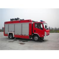 Quality 139kw 4x2 Drive ISUZU Chassis Light Fire Truck With LED Light Source for sale