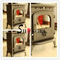Quality forest paint Cast Iron Wood-Burning Stove for sale