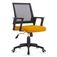 Quality Multi Coloured Office Computer Chair With Nylon Castors Fabric With PP Cover Back for sale