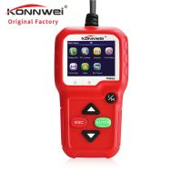 China Red Portable Auto Diagnostic Machine KW680 For All 1996 And Later OBDII Compliant US European And Asian Vehicl on sale