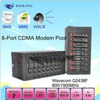 Quality 8card slots usb SMS modem pool with MC55I for sale